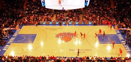 Partido de los Knicks
