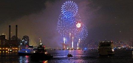 Fin de Año en un crucero