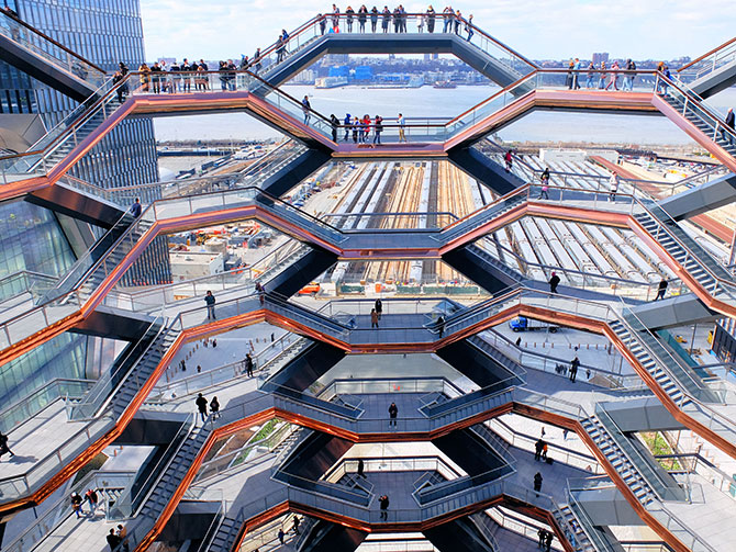 Hudson Yards Vessel en Nueva York - Vistas desde Vessel