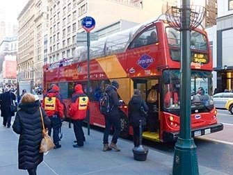 New York Sightseeing Flex Pass - bus hop on hop off