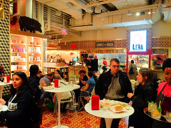 Mercado Little Spain en nueva York - Leña