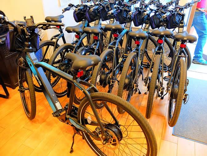 Tour en bicicleta eléctrica en Nueva York - E-Bikes