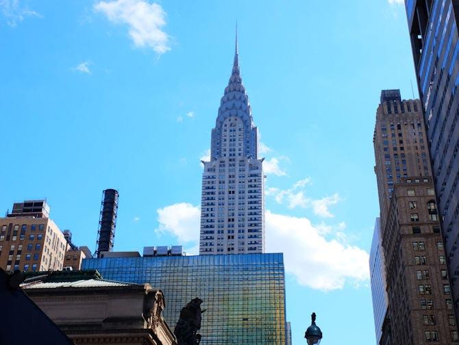 Chrysler Building en Nueva York - Estilo Art Deco