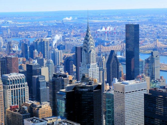 Chrysler Building en Nueva York - Vistas desde el edificio